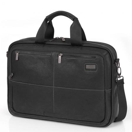 Gabol_409110_Studio_Briefcase_Laptoptas_Zwart