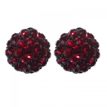 Oorclips_Strass_Rood