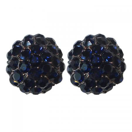 Oorclips_Strass_Blauw