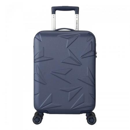 decent-q-luxx-handbagage-koffer-55cm-donkerblauw