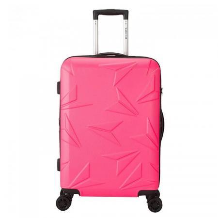 decent-q-luxx-koffer-77cm-expandable-roze