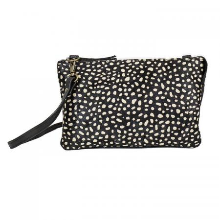 Bear_Design_Schoudertasje_Clutch_Portemonnee_Uma_Vachtje_White_Dots
