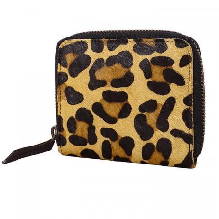 DSTRCT_Zip_Around_Portemonnee_157-9006-ONE_Black_Leopard
