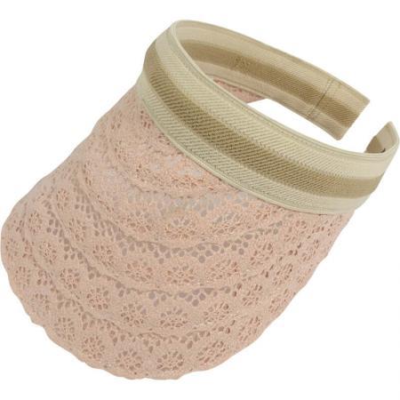 zonneklep-kant-diadeem-streep-roze