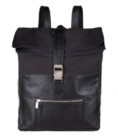 Cowboysbag_Back2School_Rugzak_Backpack_Hunter_15.6_inch_Zwart