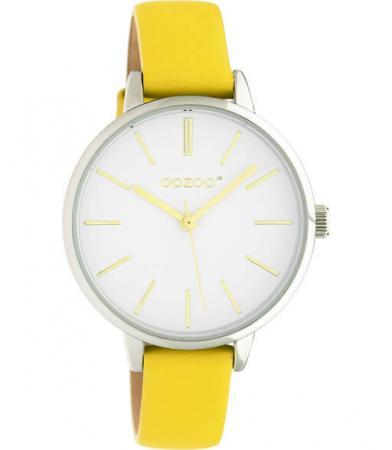 OOZOO JR Horloge Mosterd Geel/Wit   JR312