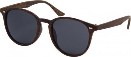 Az Eyewear Icons Unisex Zonnebril Hout Look Bruin | Polarized
