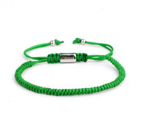 Caviar Collection Armband / Enkelbandje Neon X Green