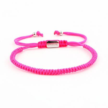 Caviar Collection Armband / Enkelbandje Neon X Pink