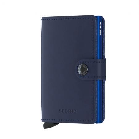 Secrid Mini Wallet Portemonnee Original Navy - Blue