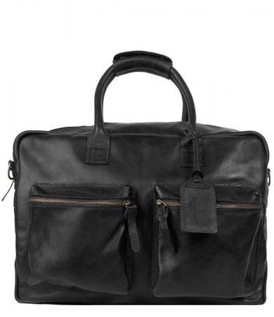 Cowboysbag Schoudertas The Bag Special Zwart | Limited Edition