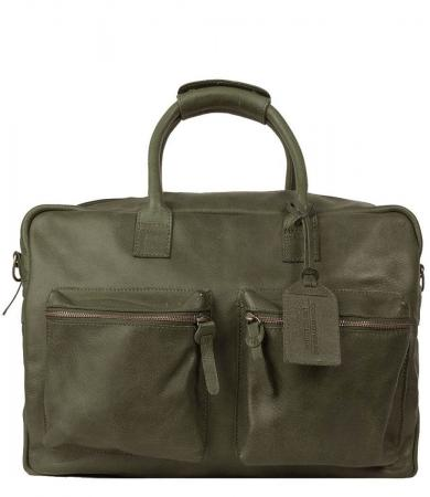 Cowboysbag Schoudertas The Bag Special Forest Green | Limited Edition