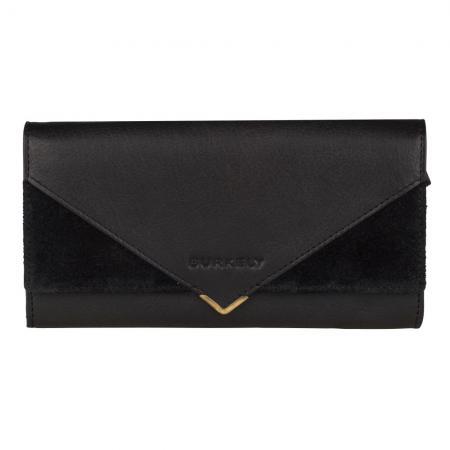 Burkely Secret Sage Wallet L Portemonnee RFID Zwart