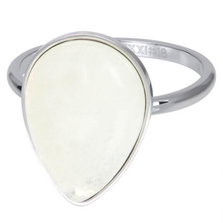iXXXi Vulring Royal Stone Drop White Zilver
