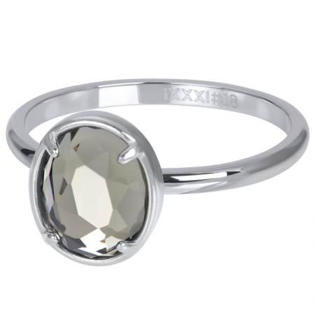 iXXXi Vulring Glam Oval Crystal Zilver