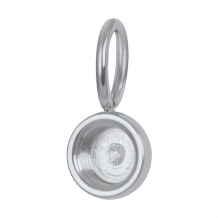 iXXXi Charm Top Part Base Zilver