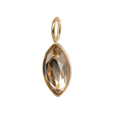 iXXXi Charm Royal Diamond Topaz Goud