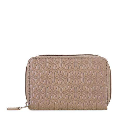 Mywalit Medium Zip Round Wallet Mink