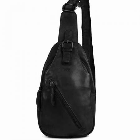 Bear Design Crossbody Rugzak / Bodybag Daley Zwart