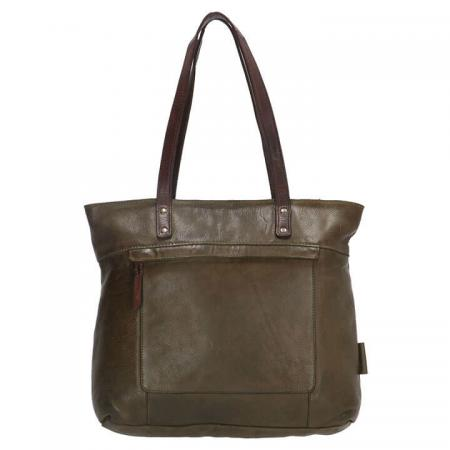 Micmacbags Shopper Highland Park Olijf