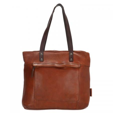 Micmacbags Shopper Highland Park Cognac