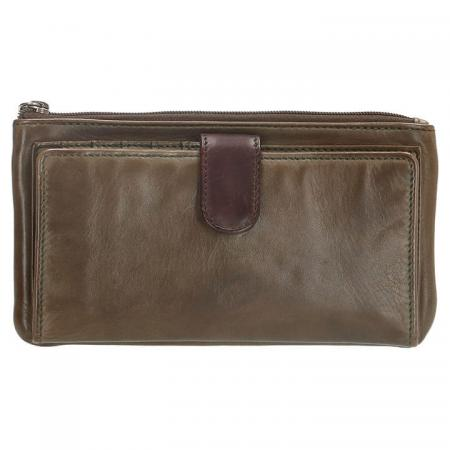Micmacbags Portemonnee / Clutch Highland Park Olijf