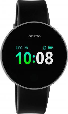 OOZOO Smartwatch Zwart/Zilver | Q00202