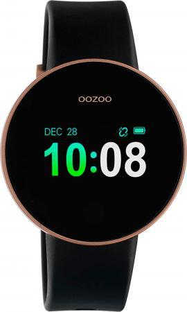 OOZOO Smartwatch Zwart/Rosé Goud | Q00204