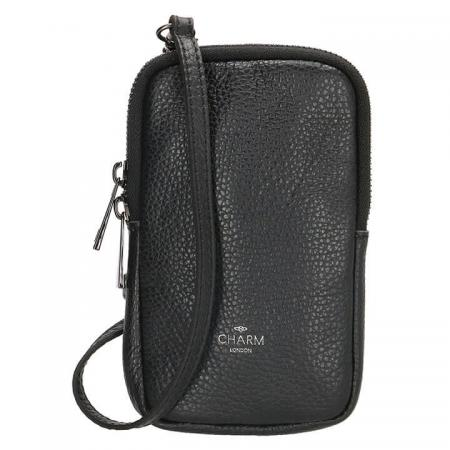 Charm London Phone Bag Elisa Telefoontasje Zwart