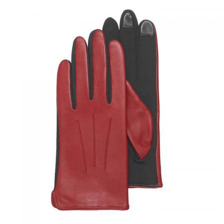Otto Kessler Dames Touchscreen Handschoenen Mia Crimson