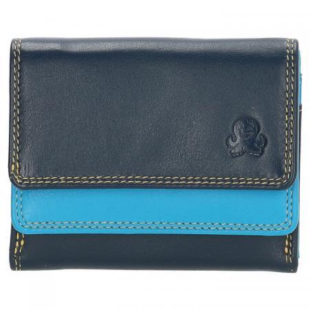 Happy Wallet Rainbow Portemonnee Blauw