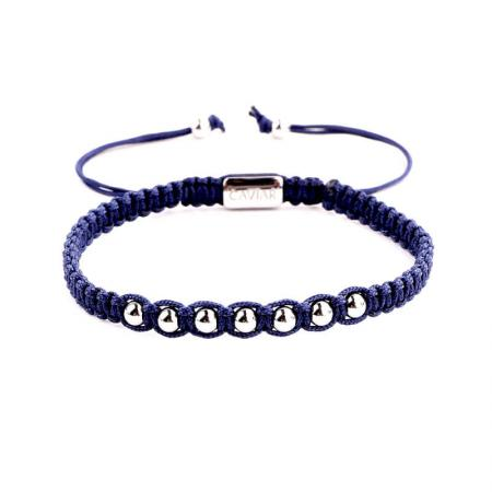 Caviar Collection Armband Alpha Blue X White Gold