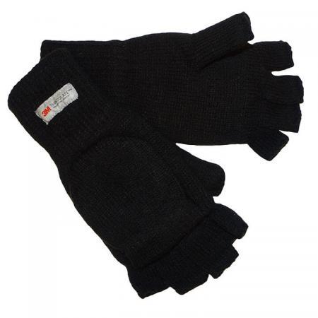 Thinsulate Zwarte Jagers Handschoenen