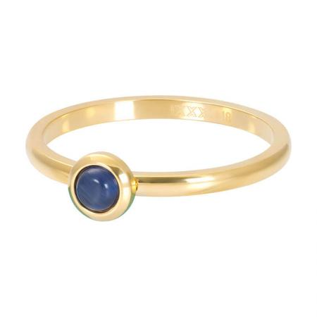 iXXXi Vulring Natural Stone Navy Blue Goud