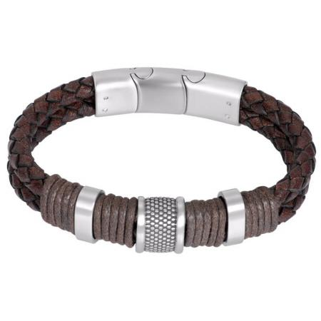 iXXXi Men Leather Armband Murphy Bruin