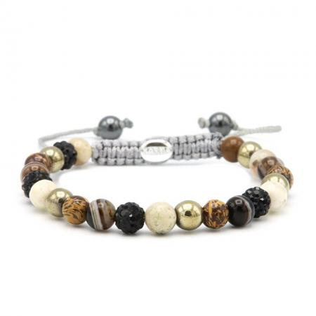 Karma Armband Spiral When The Lights Go Out Black Crystal