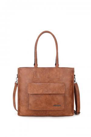 Wimona Fantasia Shopper 14'' Bruin