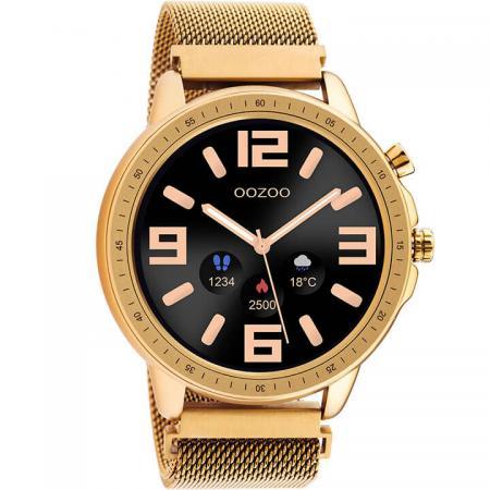 OOZOO Smartwatch Mesh Rosé Goud   Q00307