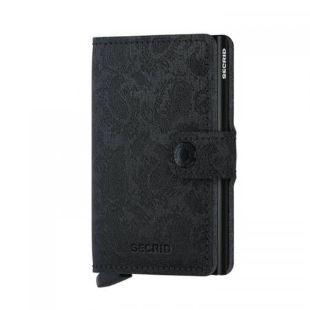 Secrid Mini Wallet Portemonnee Paisley Black