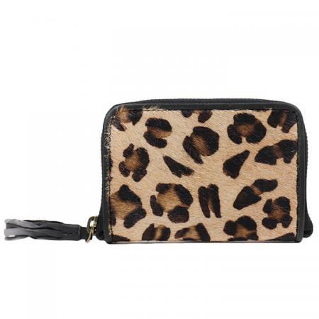 Bear Design Zip Around Portemonnee Cheetah
