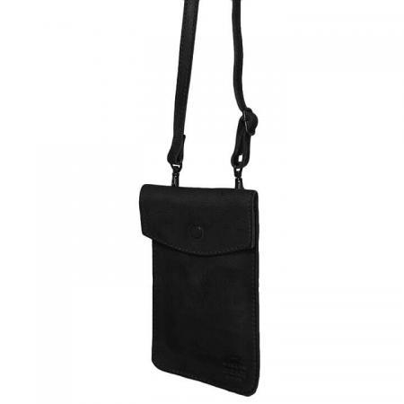 Bear Design Phone Bag Priya Telefoontasje Zwart