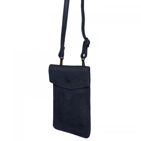 Bear Design Phone Bag Priya Telefoontasje Blauw