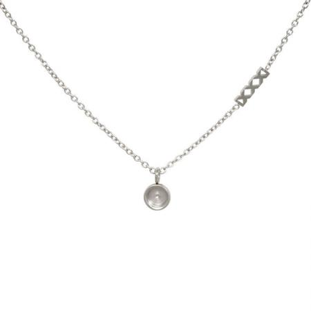 iXXXi Ketting Chain Top Part Base Zilver 40 cm