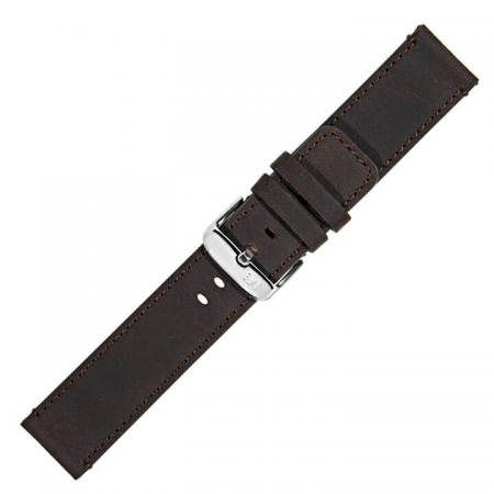 Morellato Horlogebandje Cellini Nubuck Donker Bruin 24mm