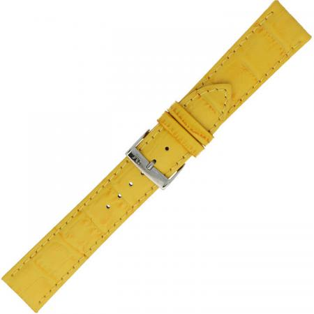 Morellato Horlogebandje Bolle Alligator Geel