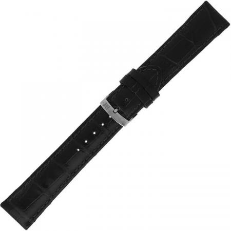 Morellato Horlogebandje Samba Alligator Zwart