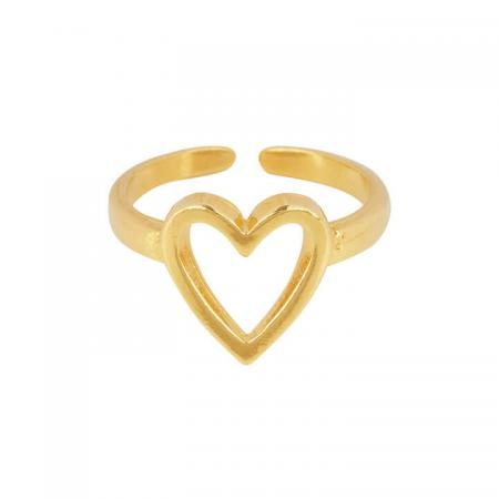 &Anne Ring - Heart Goud