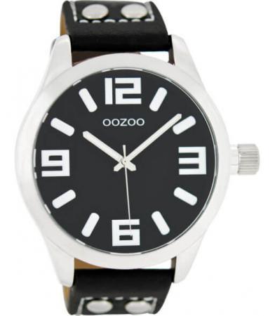 OOZOO Timepieces Horloge Zwart | C1054