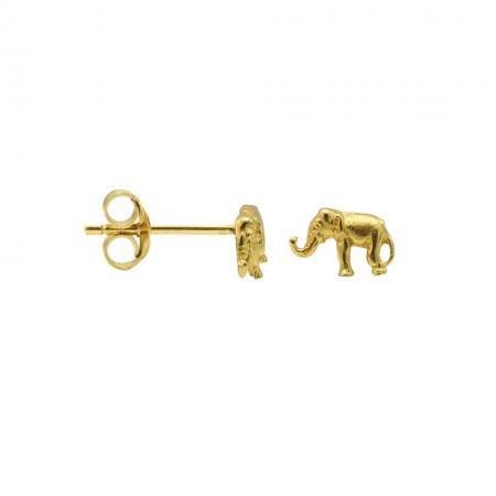 Karma Oorbellen Elephant Goud