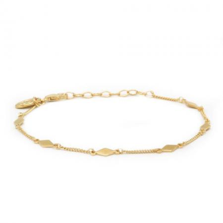 Karma Armband Diamond Shape Goud